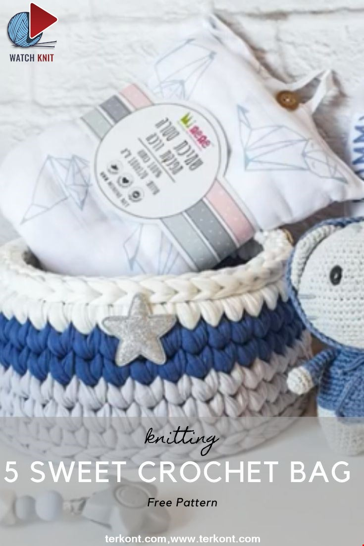 5 Sweet Crochet Bag Pattern