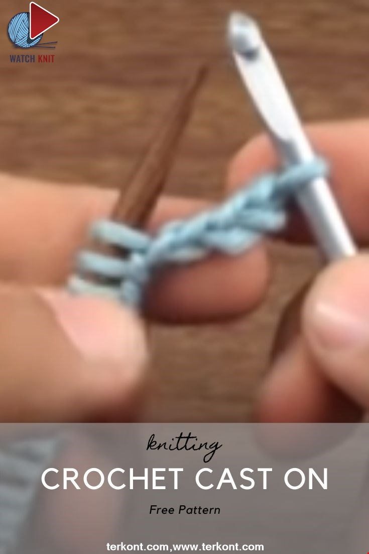 How to Knit the Crochet Cast On
