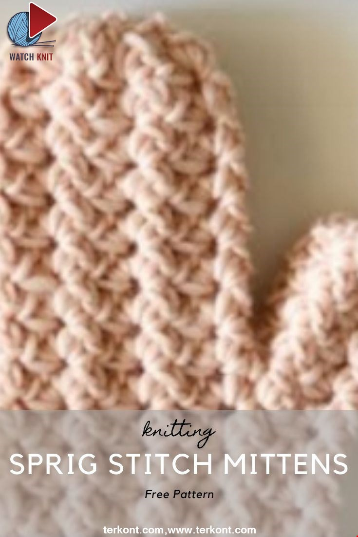 Crochet Sprig Stitch Mittens Part 1: Starting the Mitten