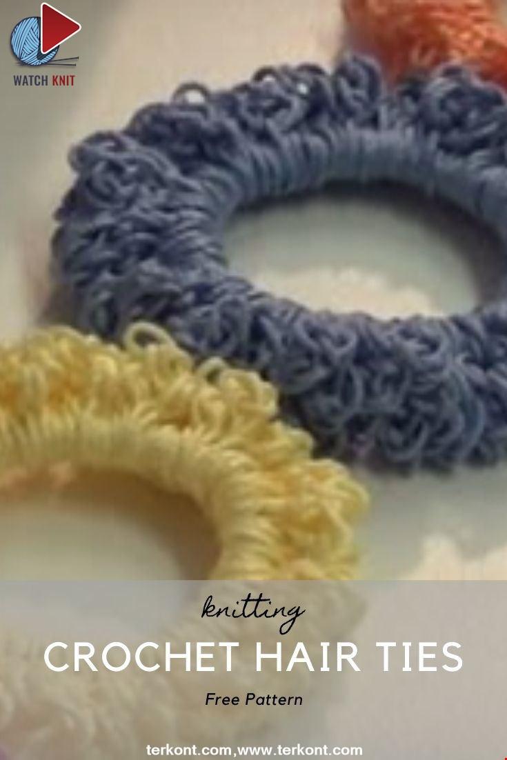 Crochet Hair Ties / Craft Show Favorite