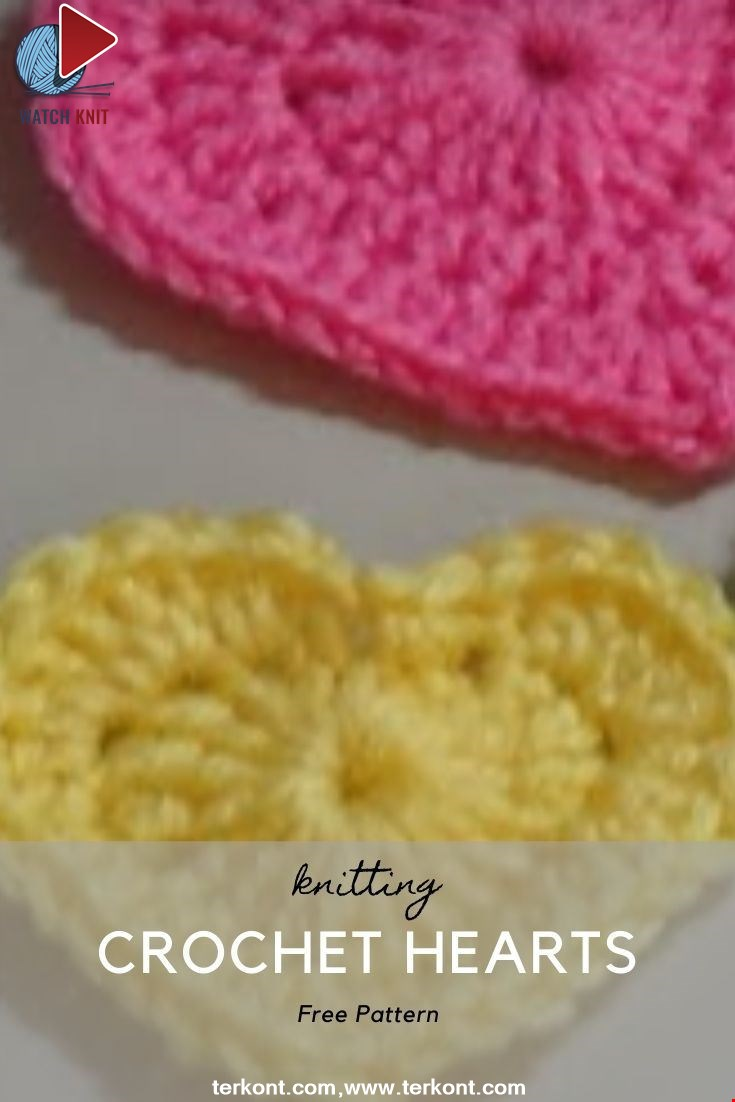 Crochet Hearts- Crochet Tutorial
