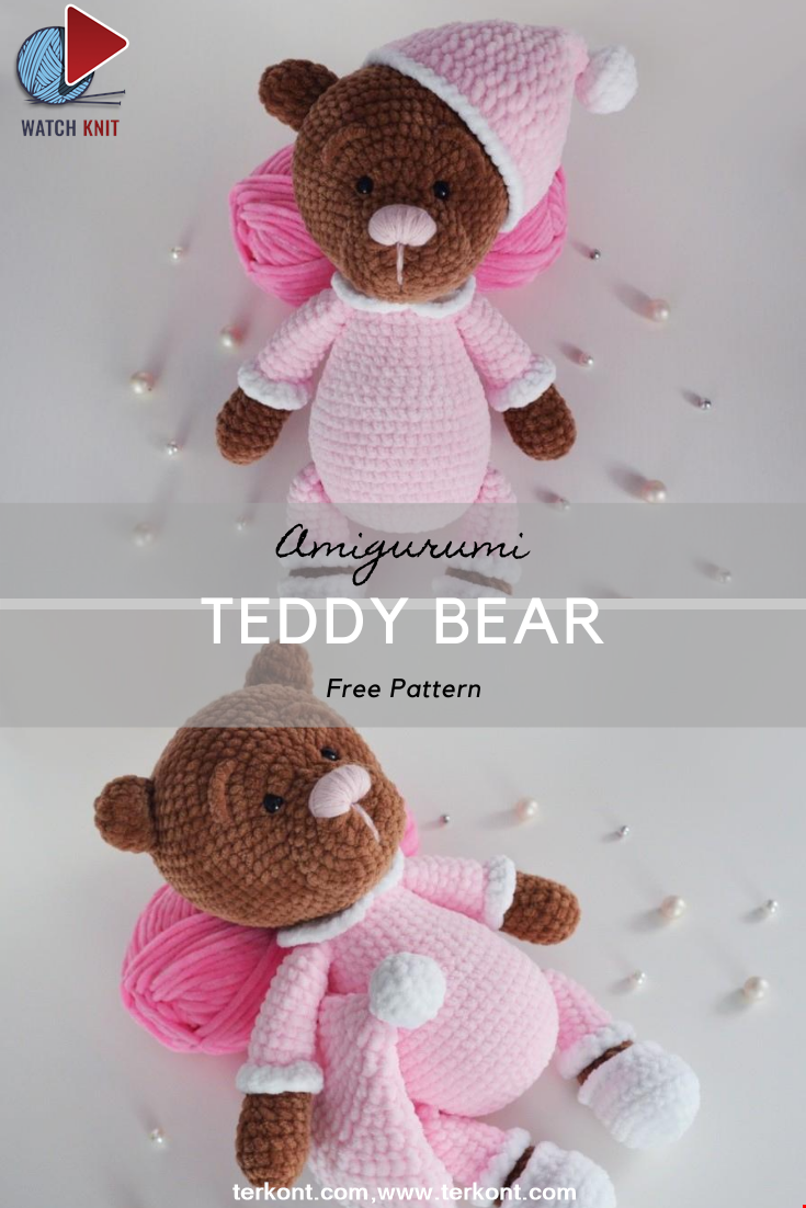 Teddy Bear Sonya Crochet Pattern