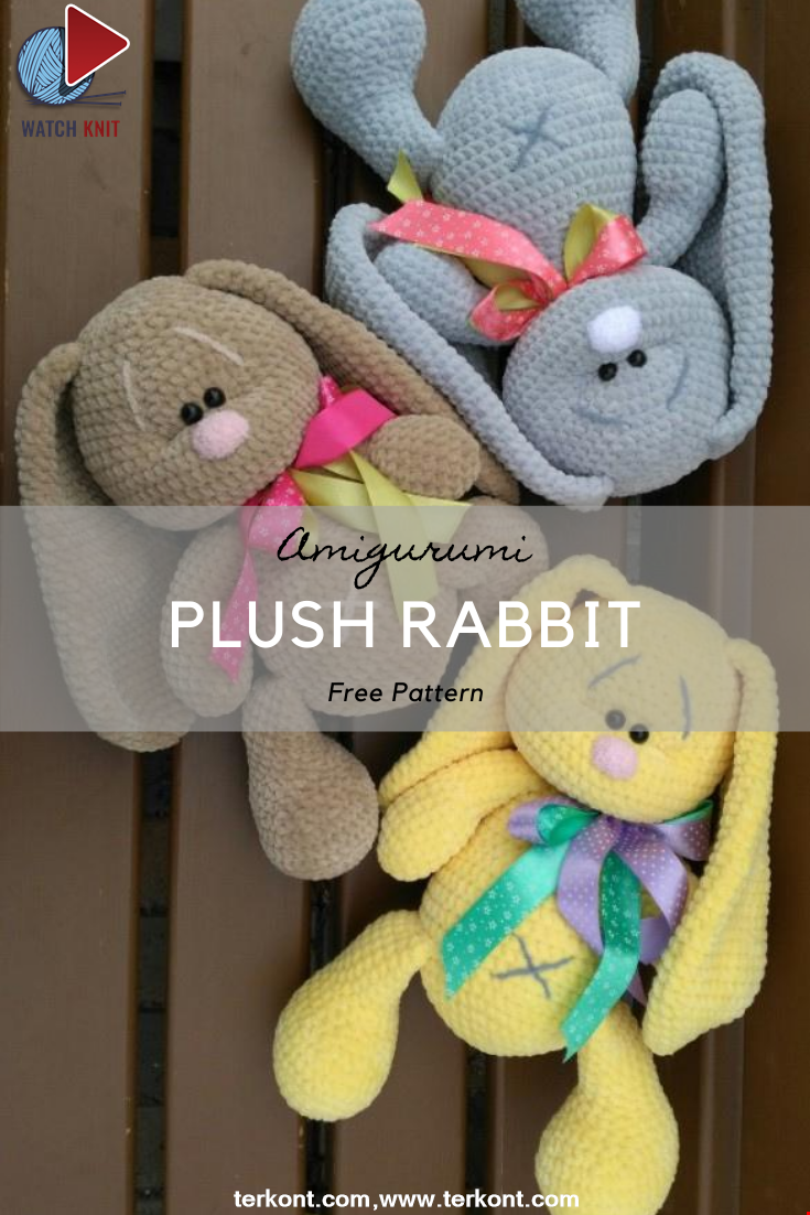 Plush Rabbit Crochet Pattern