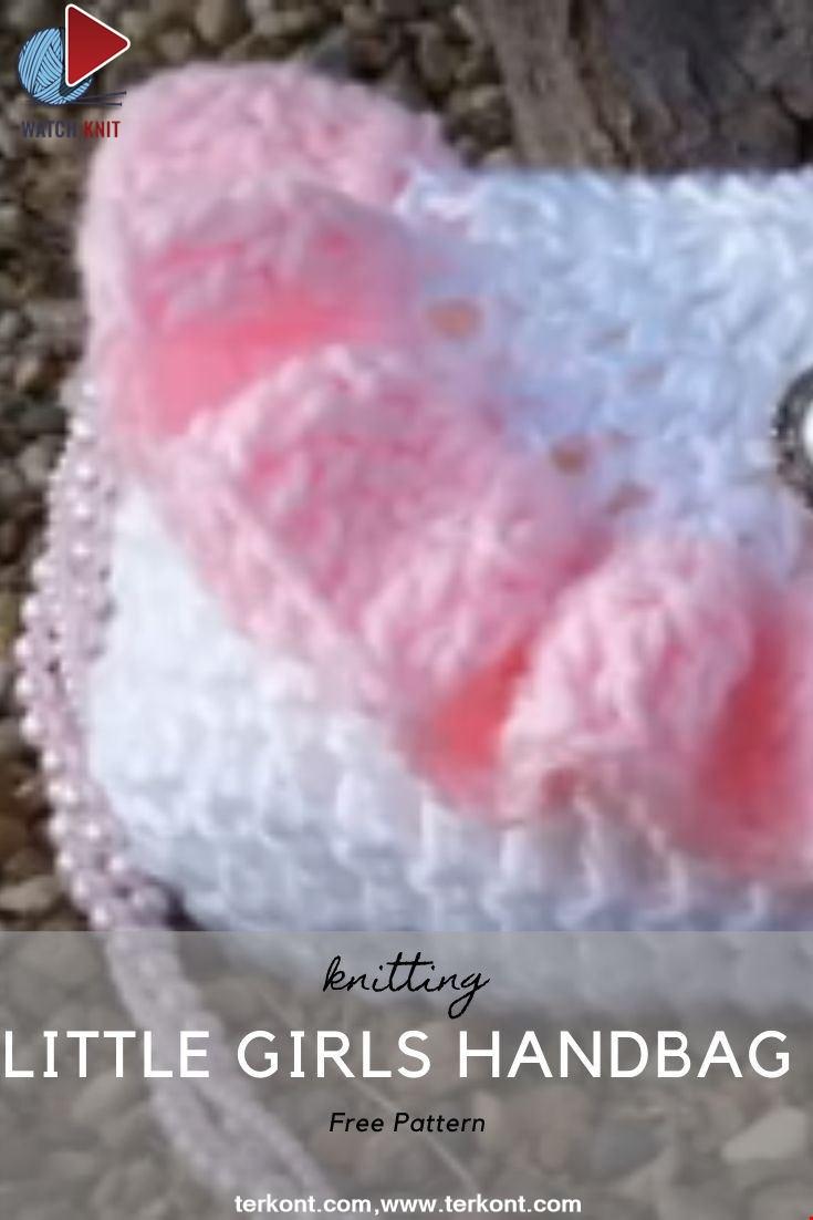 Crochet Little Girls Handbag