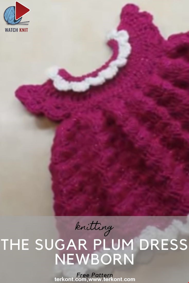 The Sugar Plum Dress Newborn