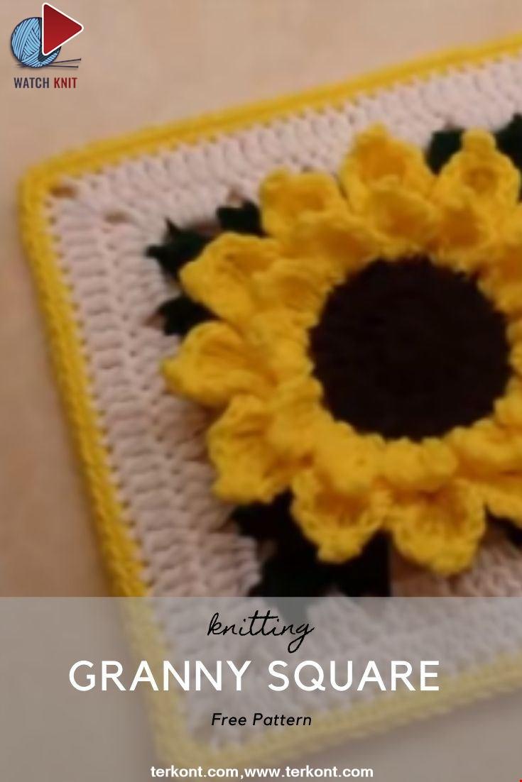 Easy Crochet A Granny Square