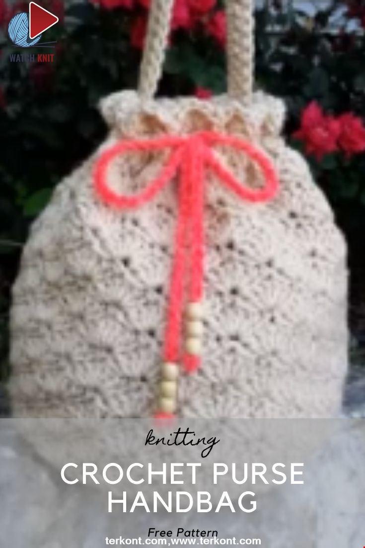 Crochet Purse Handbag