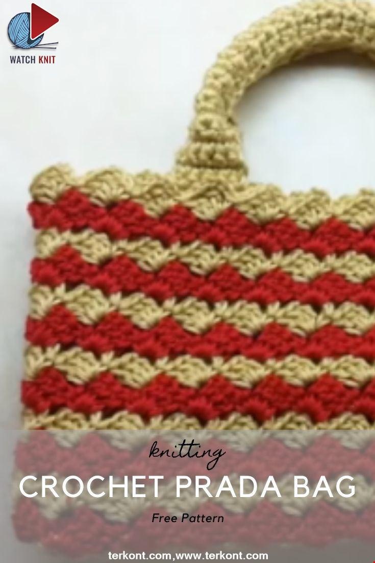 Crochet Prada Bag