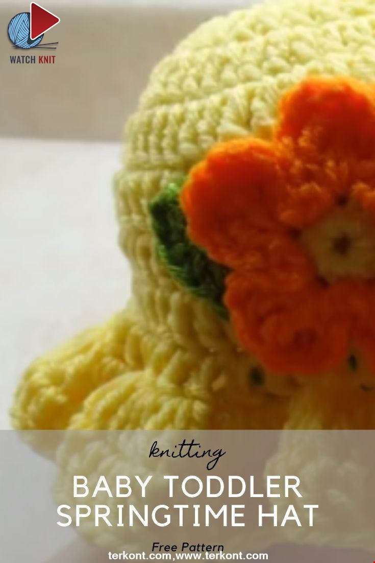 Baby Toddler Springtime Hat