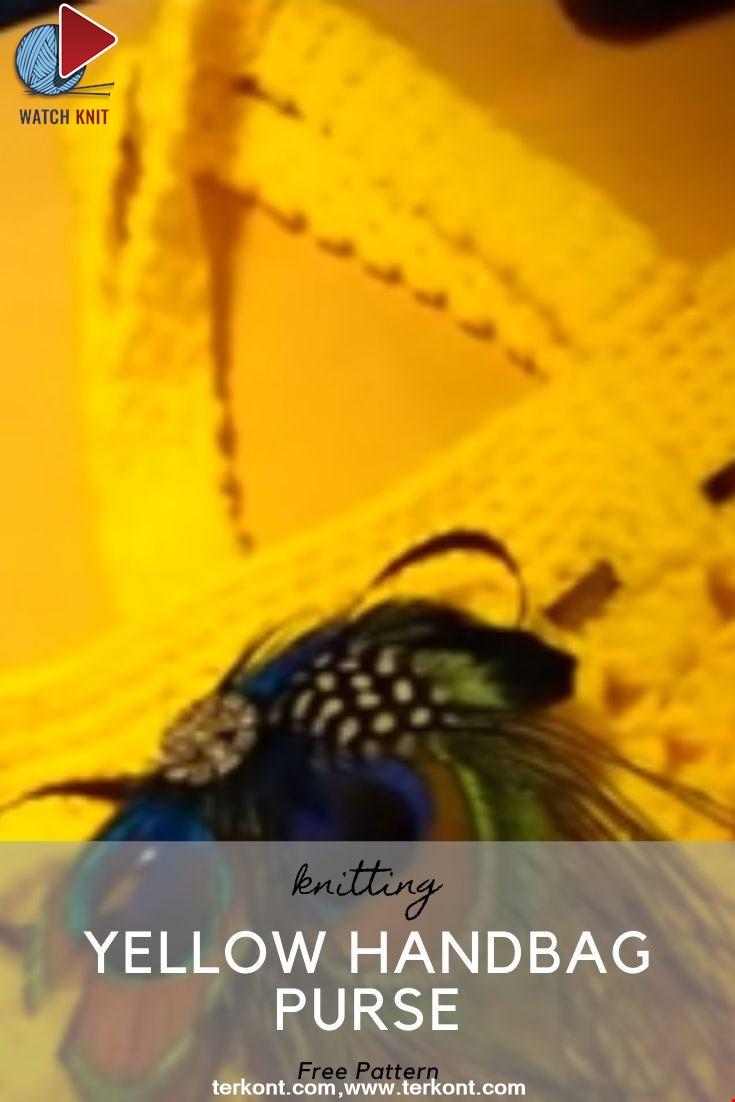 Yellow Handbag Purse