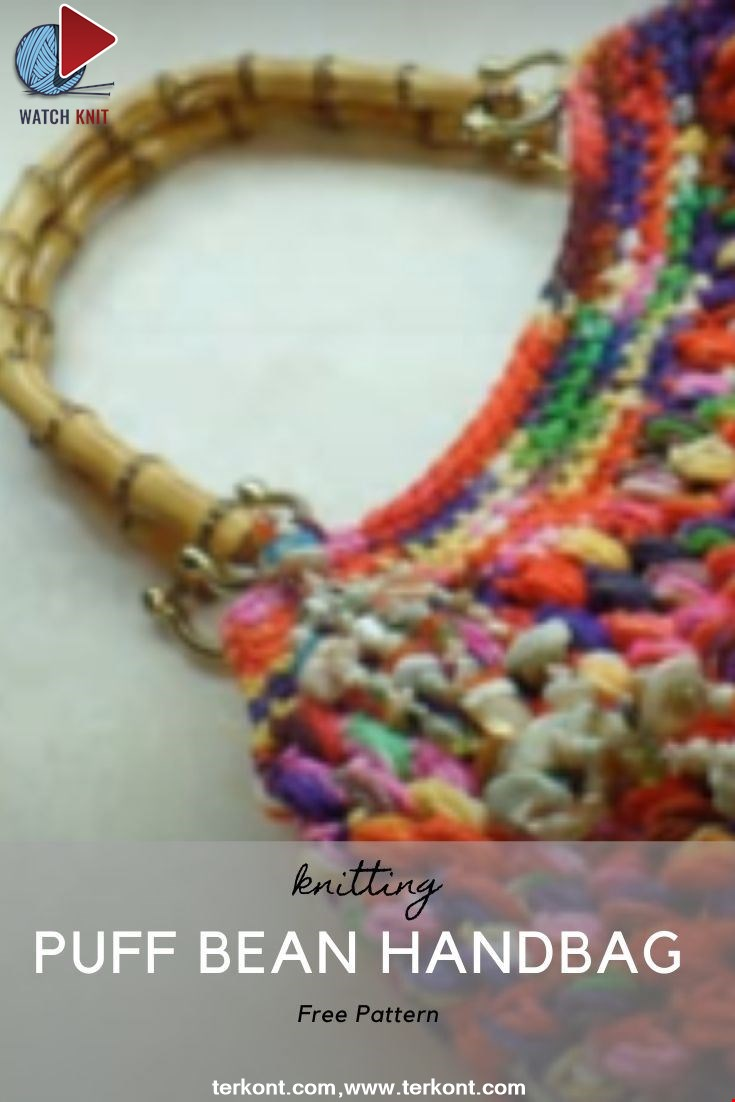 Puff Bean Stitch Handbag