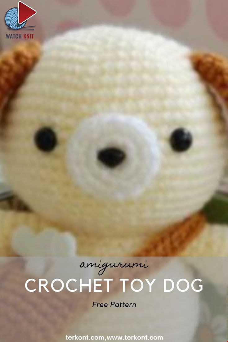 Crochet Toy Dog