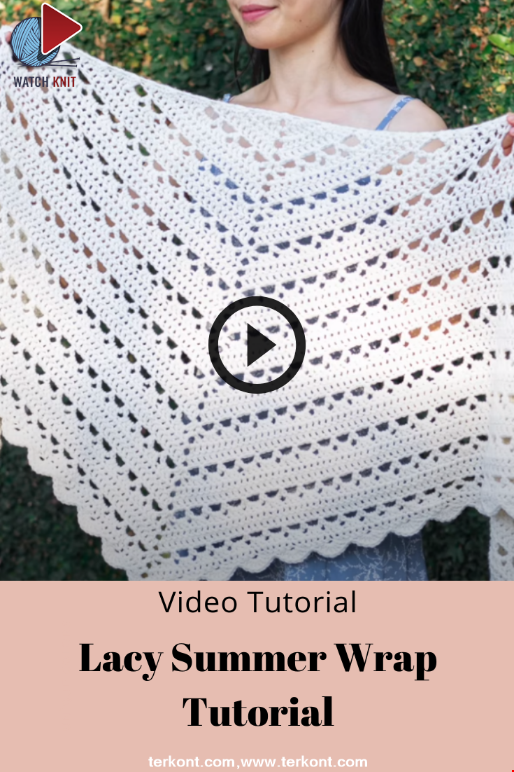 Lacy Summer Wrap Tutorial
