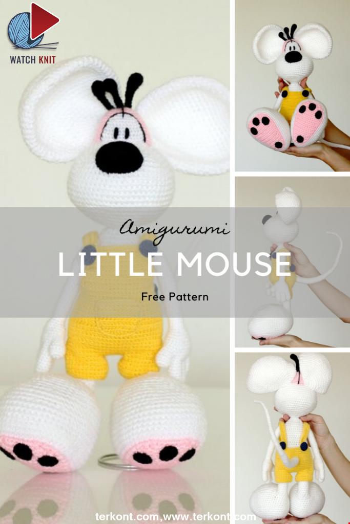 Little Mouse Amigurumi Pattern