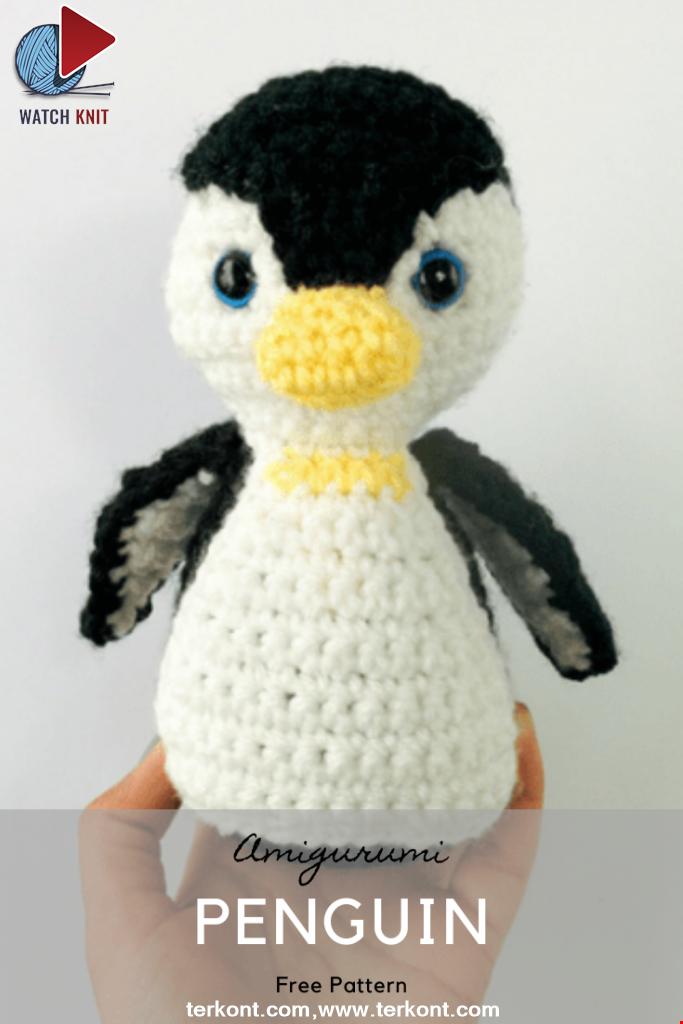 Amigurumi Penguin Crochet Pattern