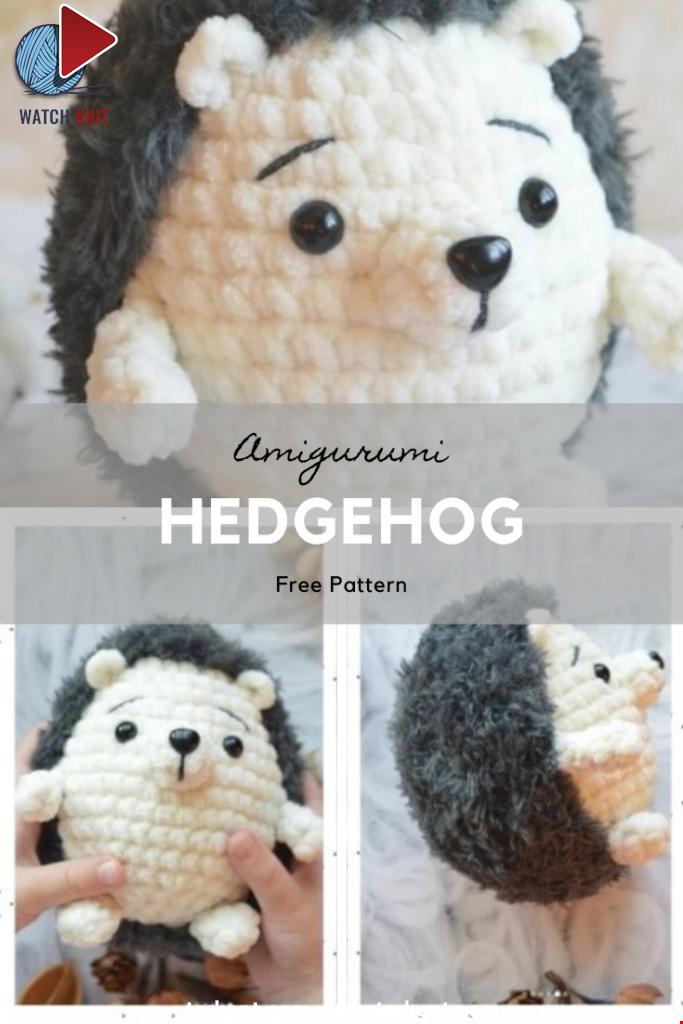 Amigurumi Hedgehog Free Pattern