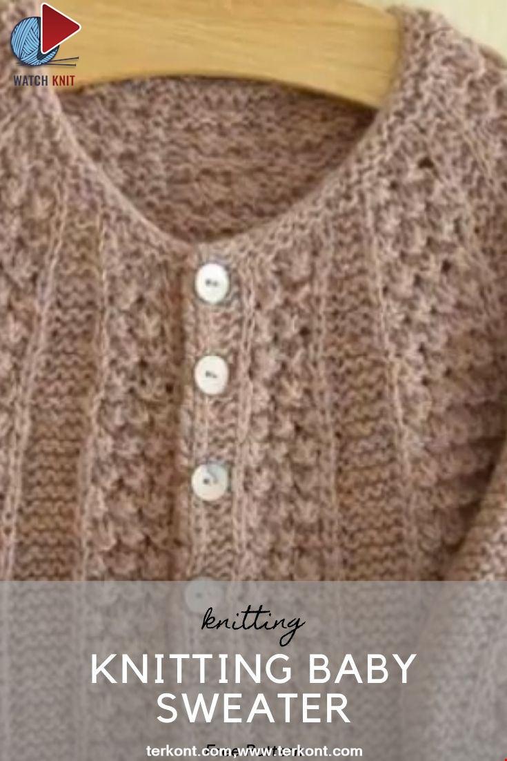 Knitting Baby Sweater