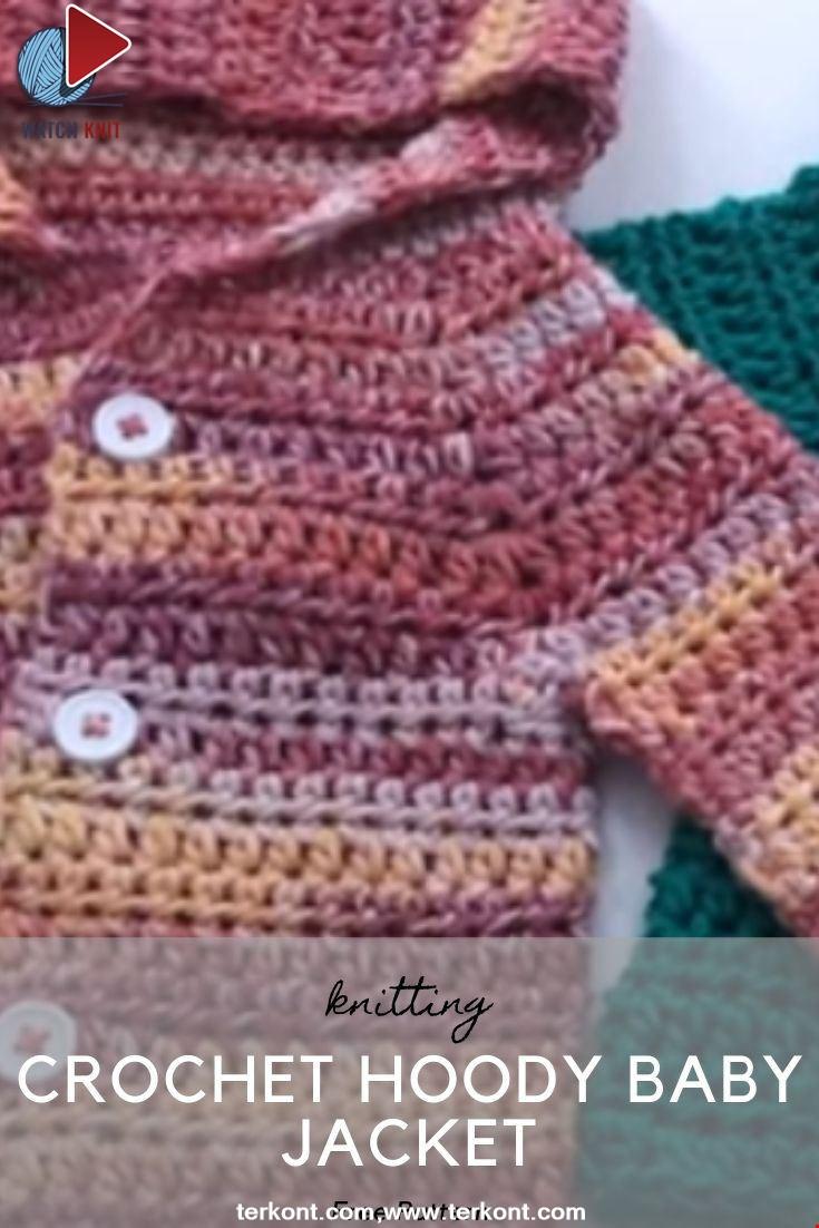 Crochet Hoody Baby Jacket