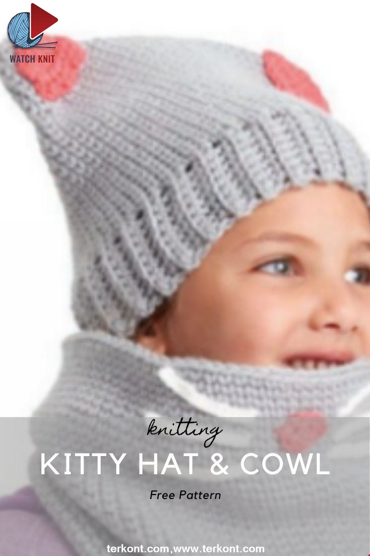 Kitty Hat & Cowl