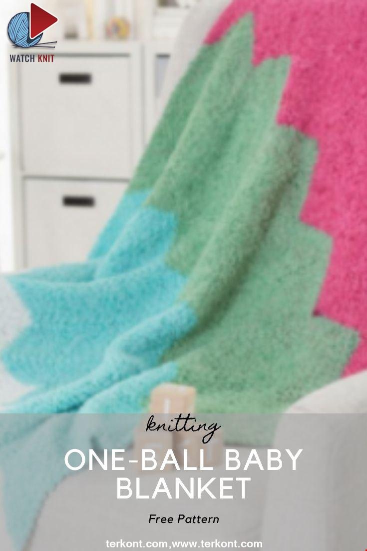 One-Ball Baby Blanket