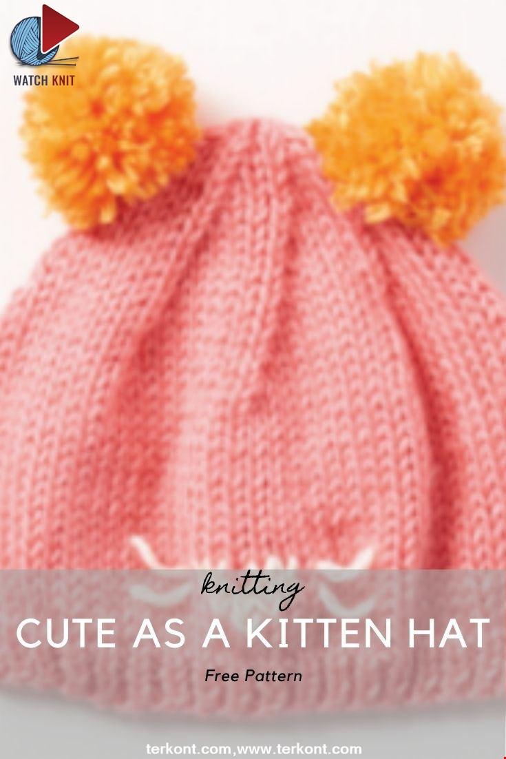 CUTE AS A KITTEN HAT