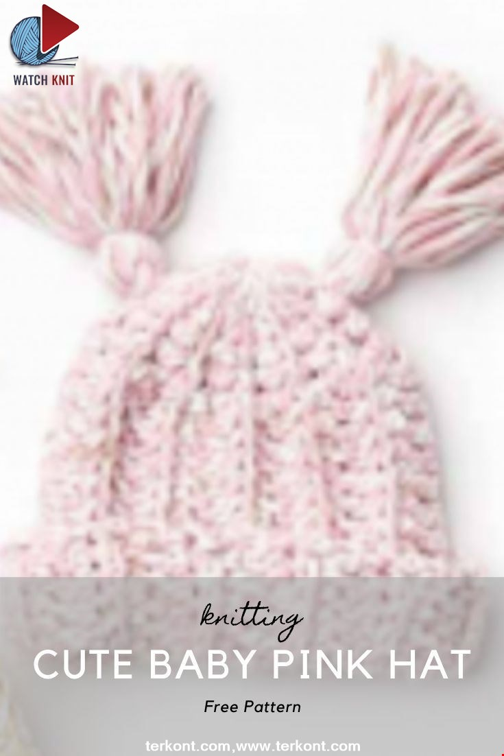 Cute Baby Pink Hat