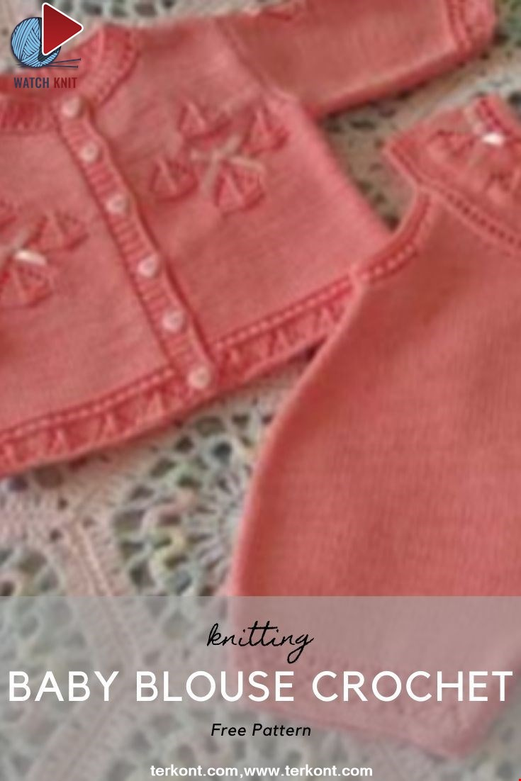 Baby Blouse Crochet