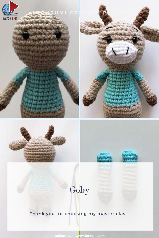 Amigurumi Goby Crochet Pattern
