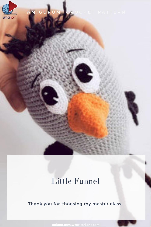 Amigurumi Little Funnel Crochet Pattern