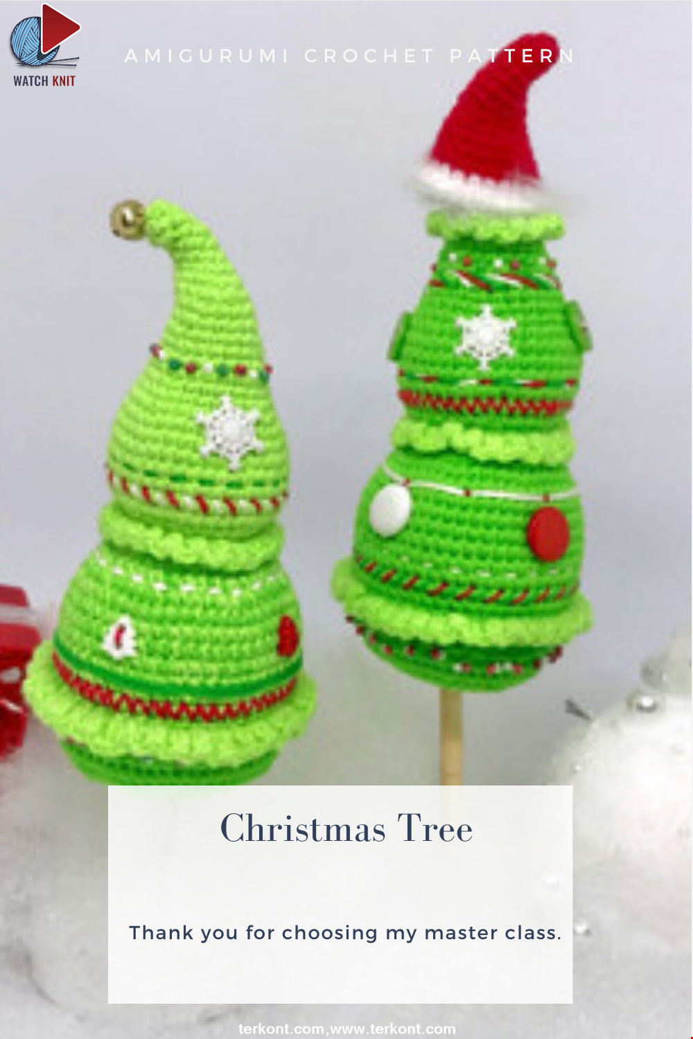 Amigurumi Christmas Tree Crochet Pattern