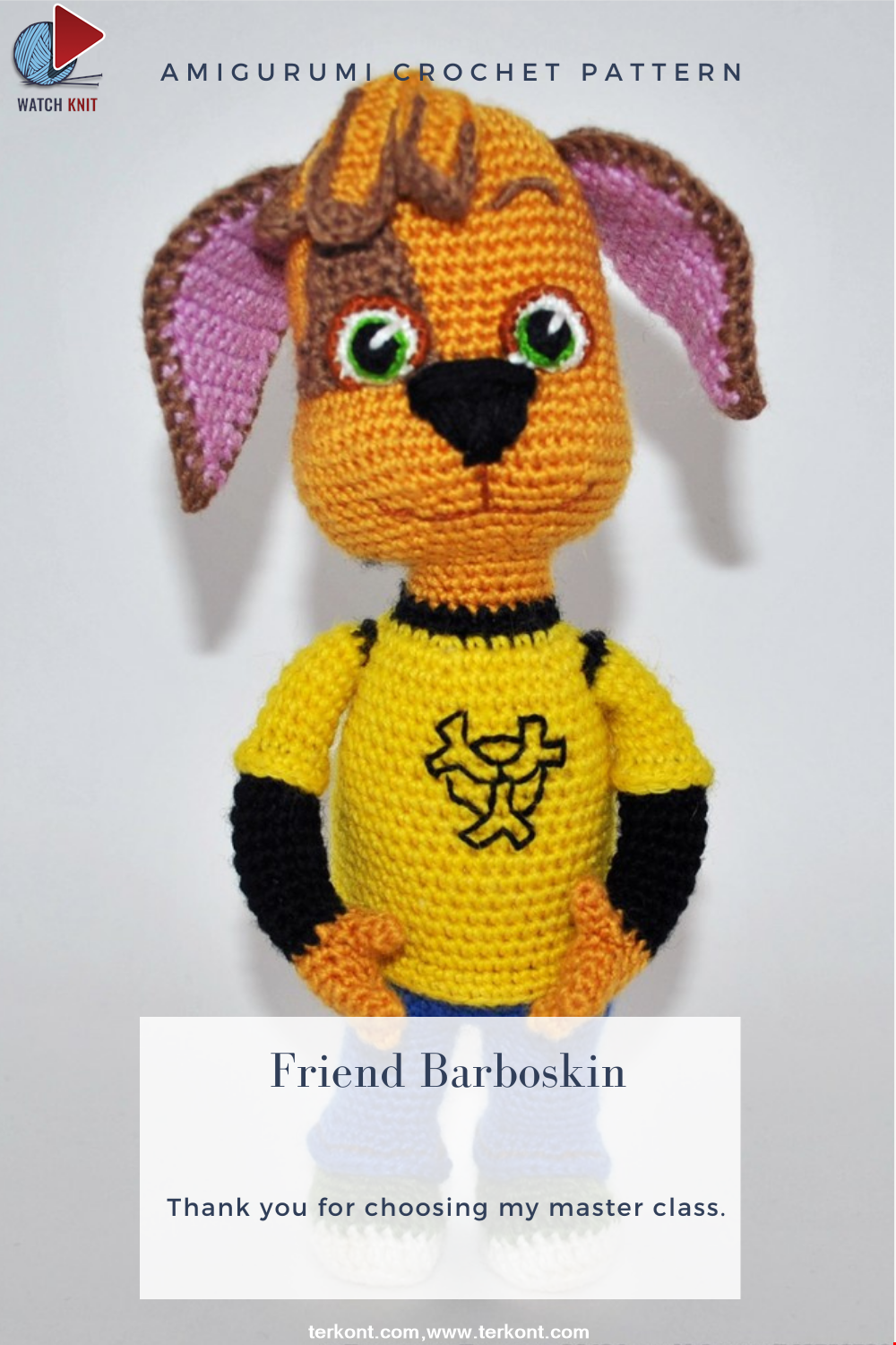 Amigurumi Friend Barboskin Crochet Pattern